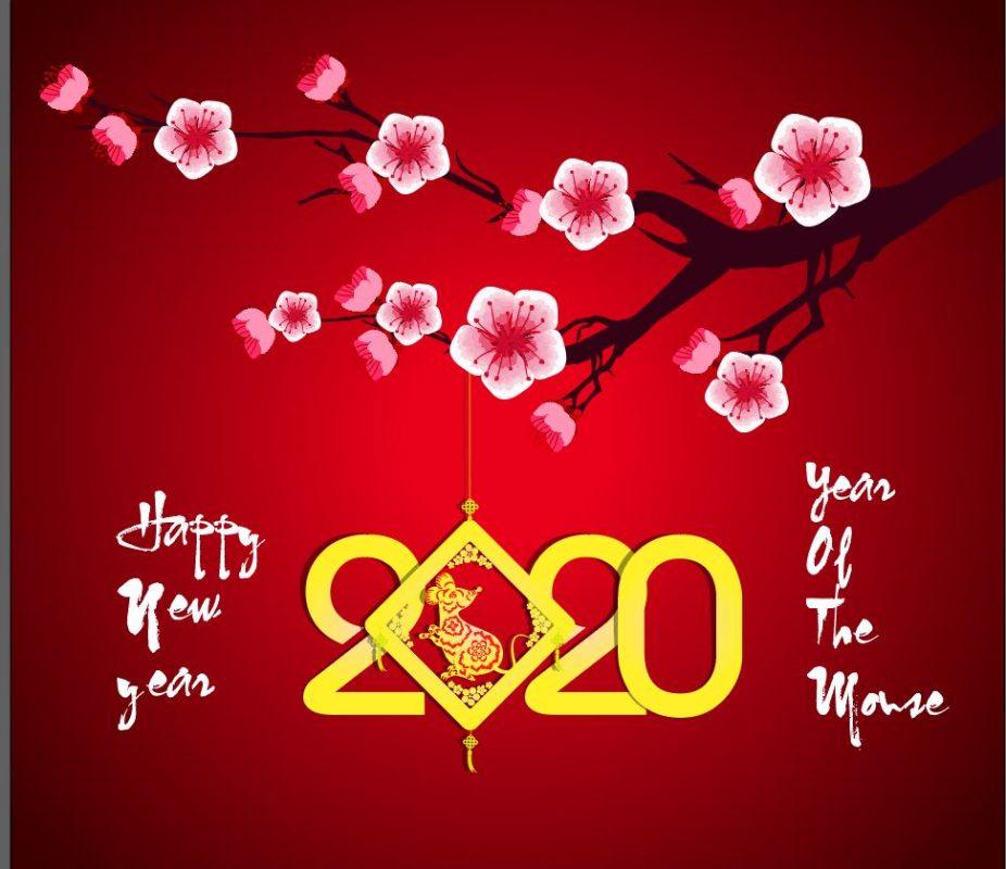 mẫu nền chúc mừng năm mới.