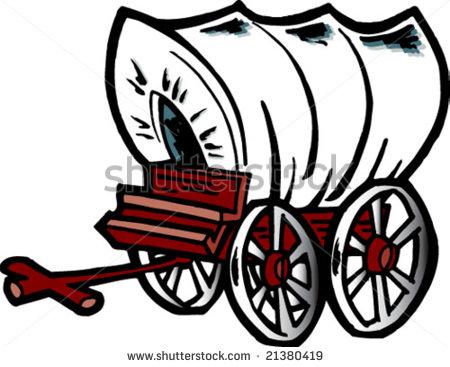Western Chuck Wagon Clipart.