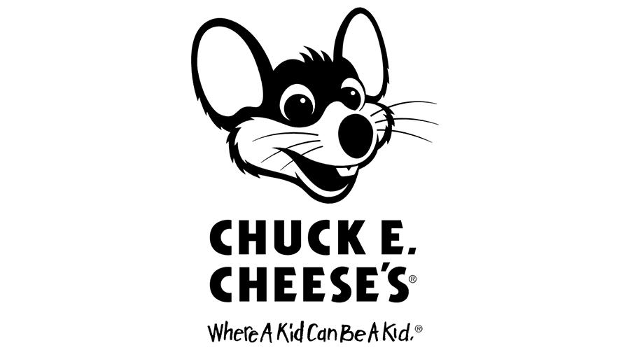 CHUCK E CHEESE'S (Black & White) Vector Logo.