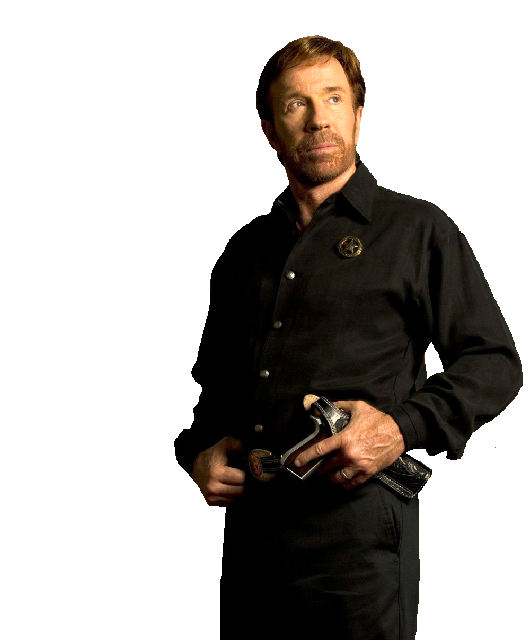 Chuck Norris PNG Image Background.