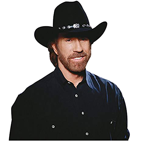 Chuck Norris PNG Image File.