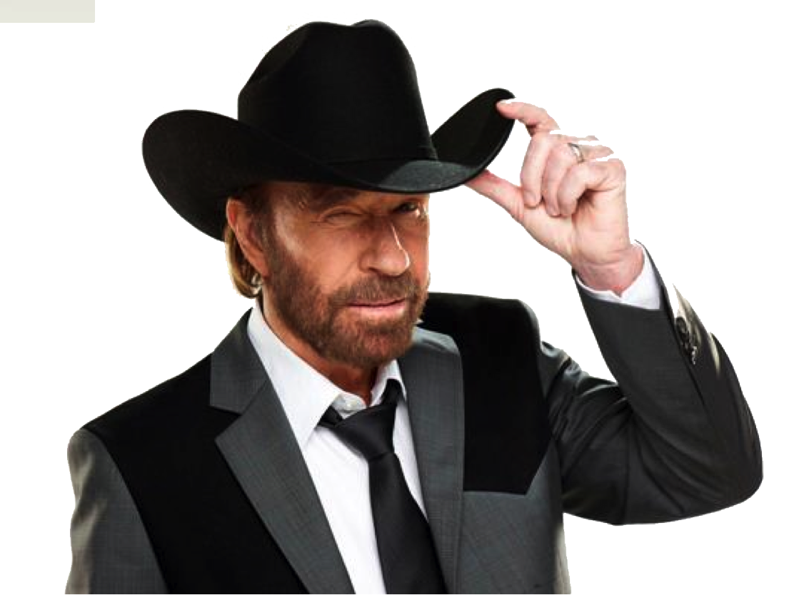 Chuck Norris PNG Image.