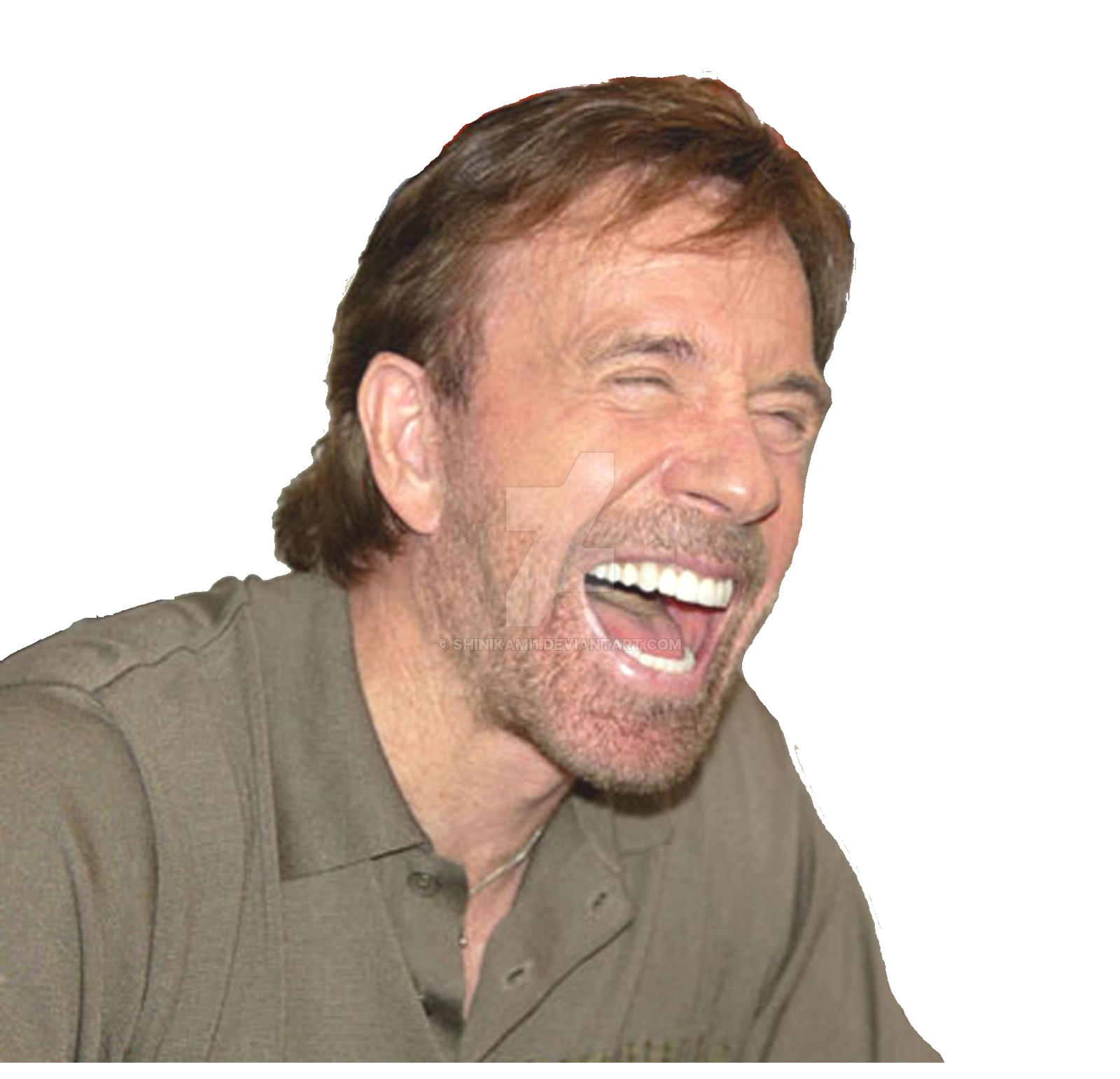 Chuck Norris PNG Free Background.