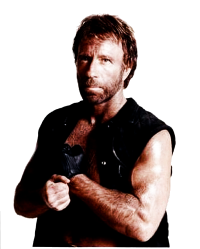 Chuck Norris PNG images free download.