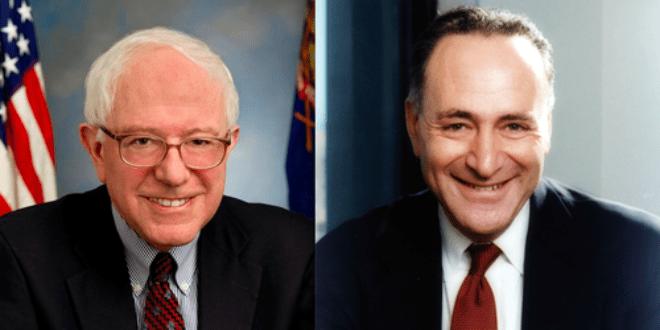 Bernie Sanders, Chuck Schumer Tapped for Democratic Leadership.