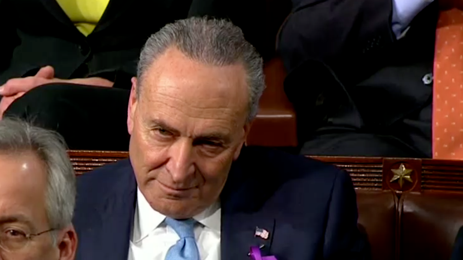 State of the Union: Senator's stone cold face gets meme'd.