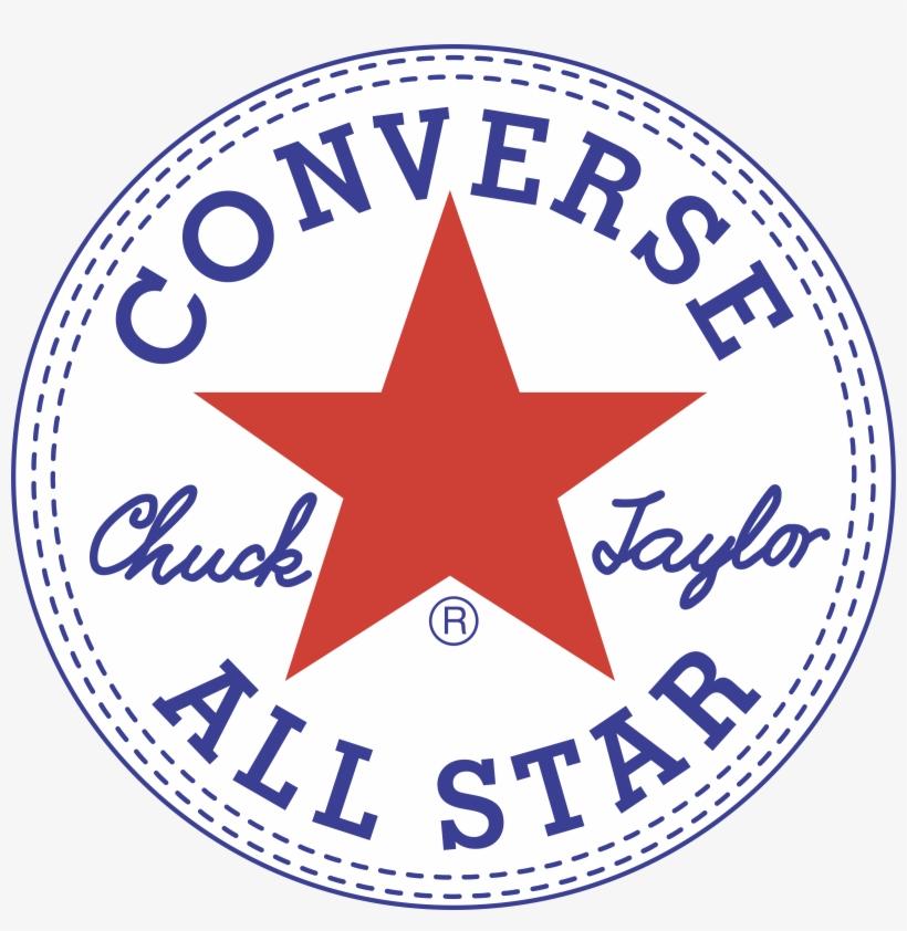 Converse All Star Logo Png Transparent.