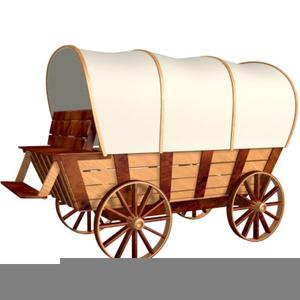 Cowboy Chuck Wagon Clipart.