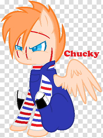 Chucky (Pony version) transparent background PNG clipart.