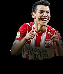 Hirving Lozano FIFA 19.