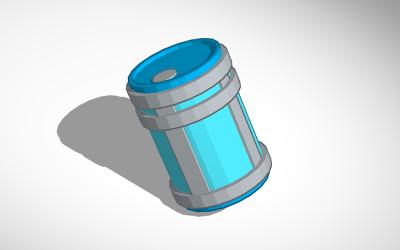 3D design Fortnite Chug Jug PNG.