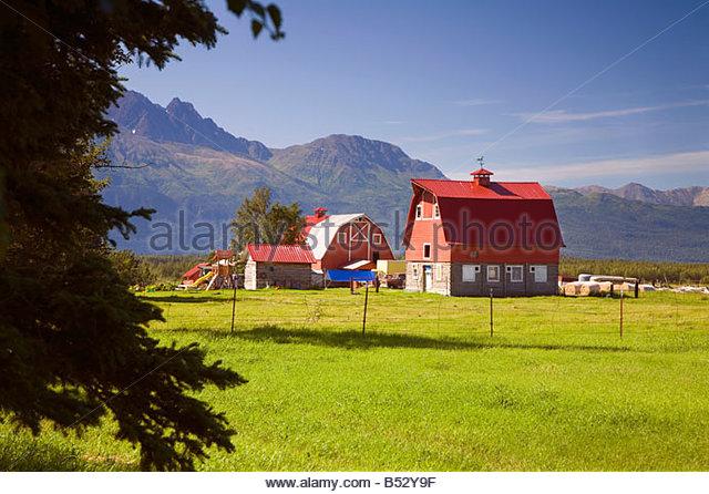 Barn Palmer Alaska Stock Photos & Barn Palmer Alaska Stock Images.