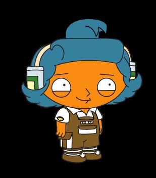 Costume: What can you make Chumba Wumba Stewie do?.