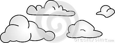 Chmury Zdjęcie Stock.