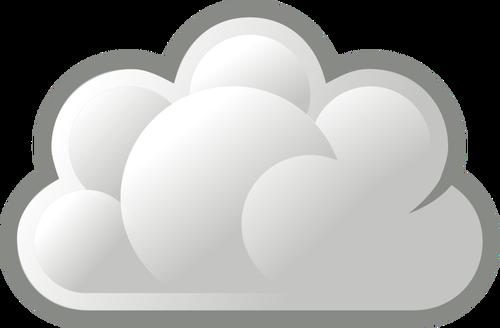 Chmura clipart.
