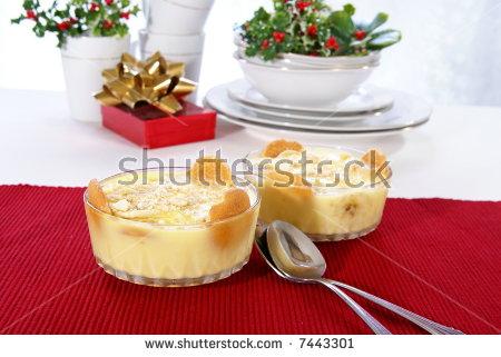 Banana Pudding Stock Photos, Royalty.