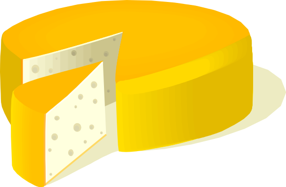 Free cheese clipart 1 page of clip art 3.