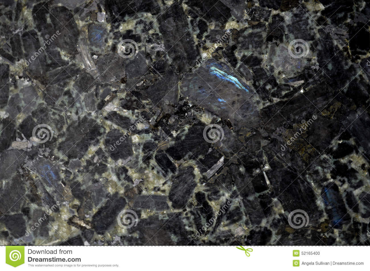 Black Granite Stone Background Stock Photo.