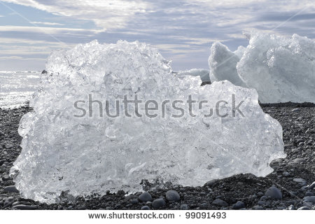 Iceland Ice Stock Photos, Royalty.