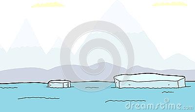 Ice Chunk Stock Illustrations.