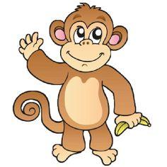 Chunky monkey clipart.