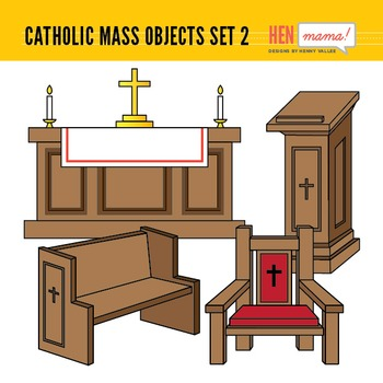 Catholic Mass Objects.