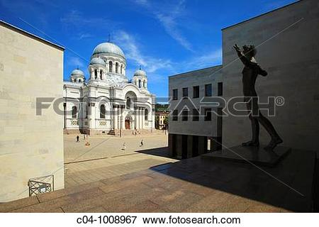 Picture of St. Michael the Archangel Church, Kaunas, Lithuania c04.