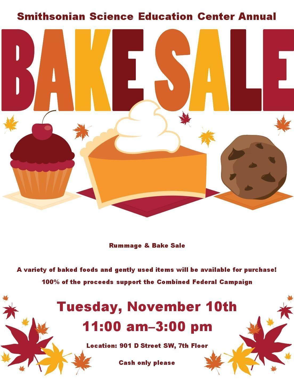 Bake Sale Flyer.