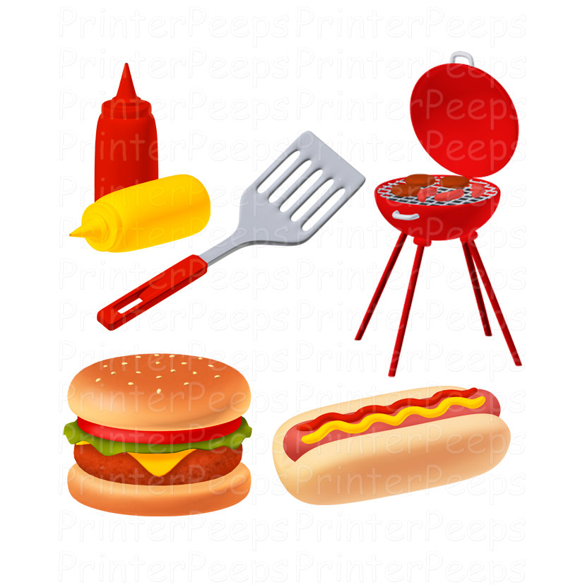 Bbq clipart border free images 6.