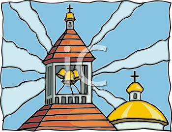 Church Bell Ringing Clipart.
