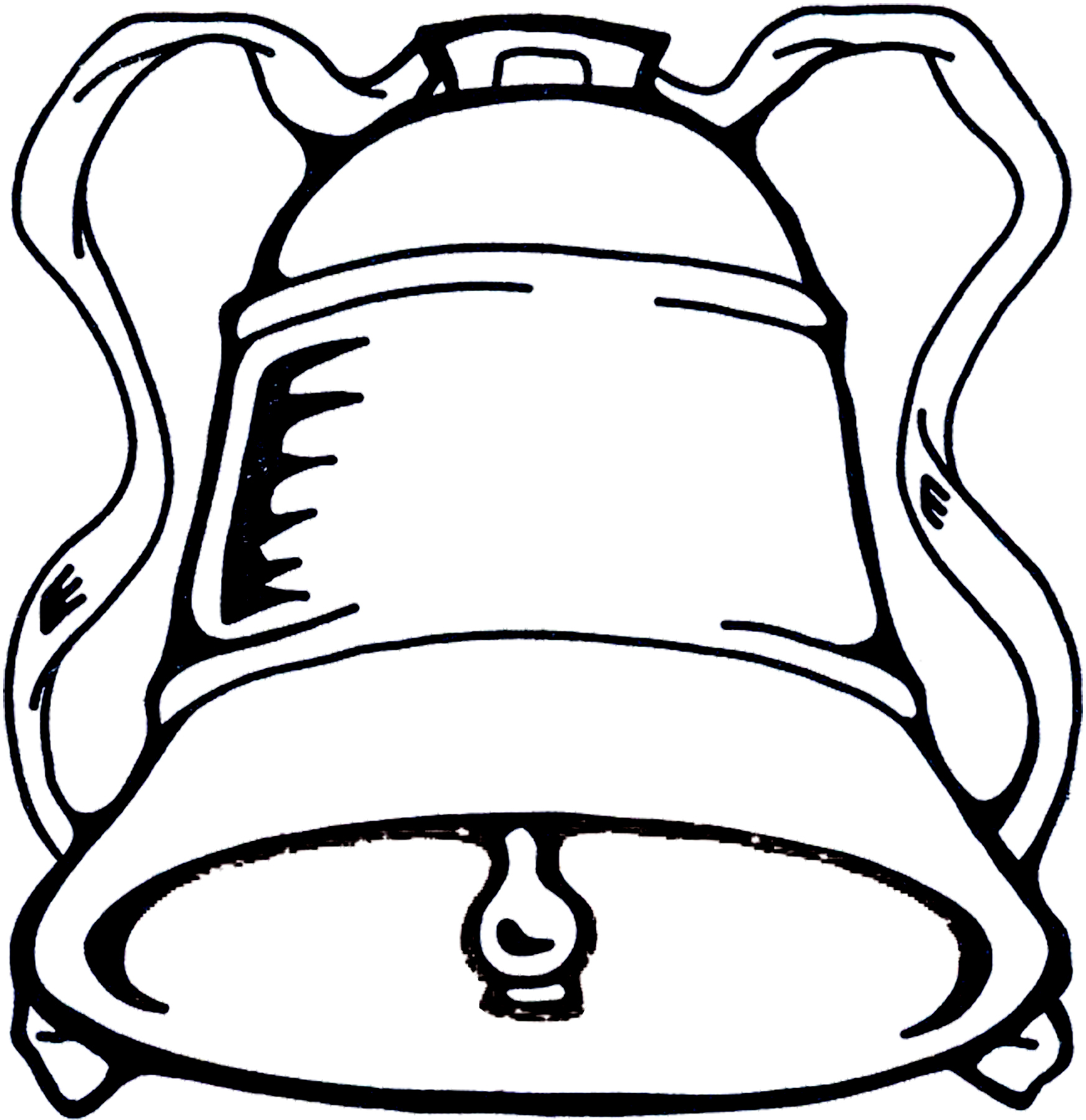 Church Bell Clip Art.