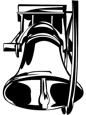 Church bells clipart.