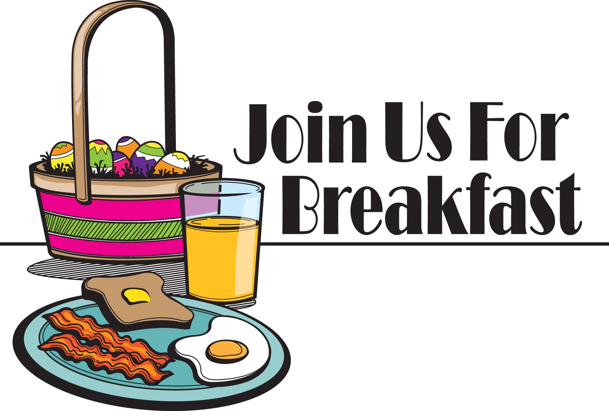 Church Breakfast Clipart.