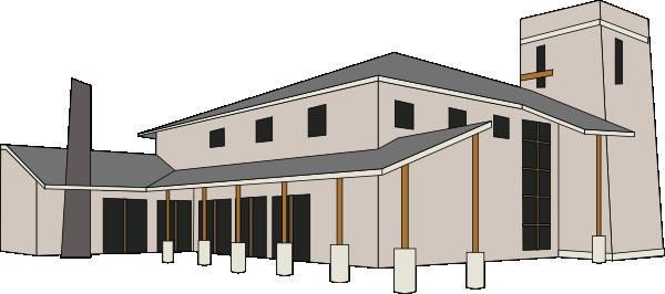 Church Building Clipart.