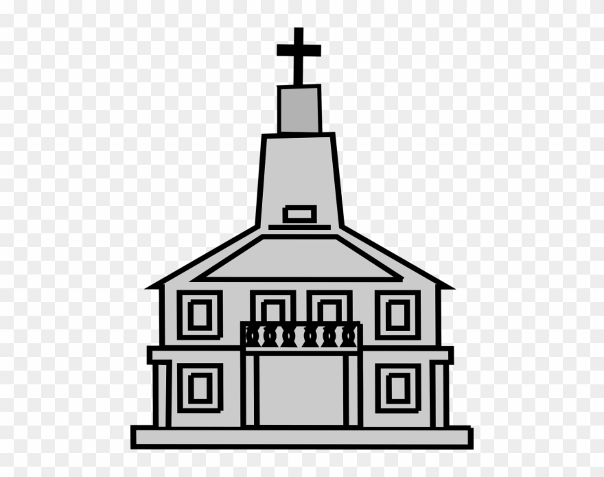 Church Building Clip Art.