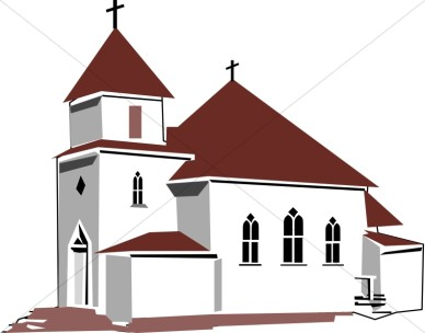 Clipart Of Church Buildings.
