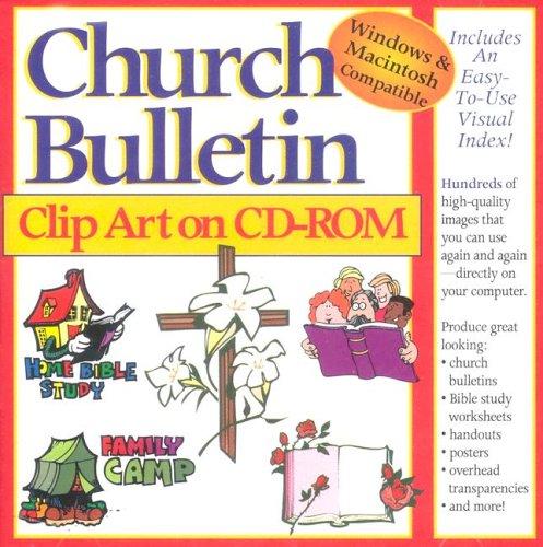 Church Bulletin Clip Art: Gospel Light Publications: 9780005168967.