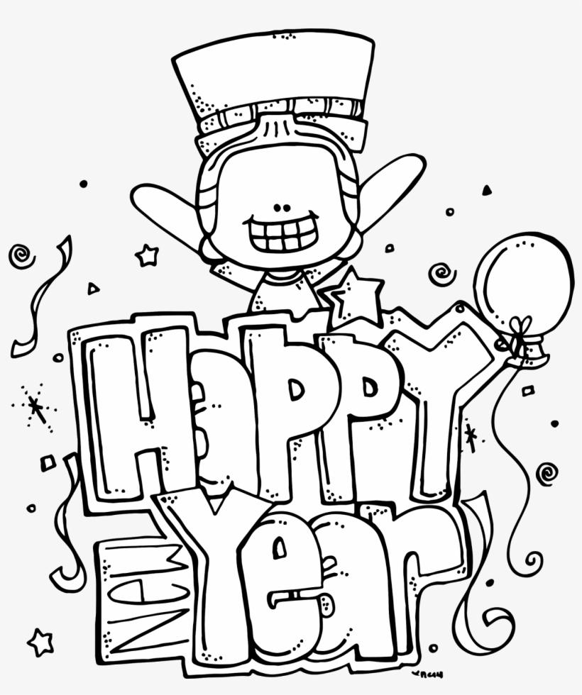 Download Free png Happy New Year Clipart Church Bulletin Melonheadz.