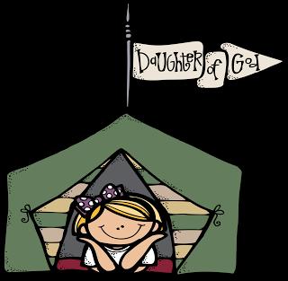 Girls Camp Illustrations.