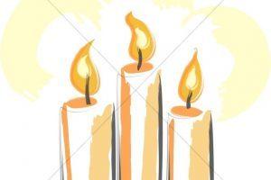 Church candles clipart 2 » Clipart Portal.