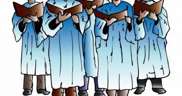 Church Choir Singing Clip Art Archives ~ Vector Images Design.