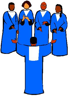 Choir anniversary clipart.