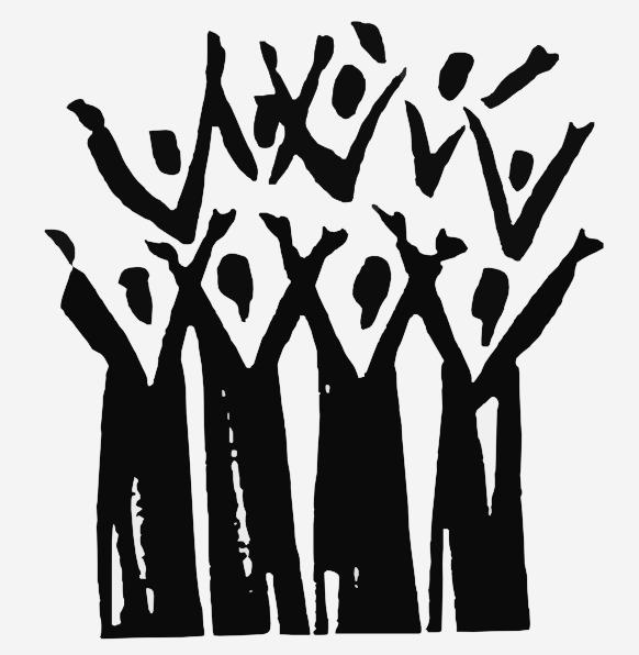 Black Church Choir Clip Art N2 free image.