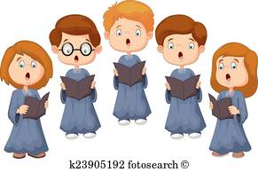 Choir Clip Art Vectors.