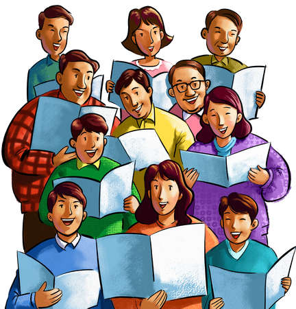Free Choir Singers Cliparts, Download Free Clip Art, Free Clip Art.