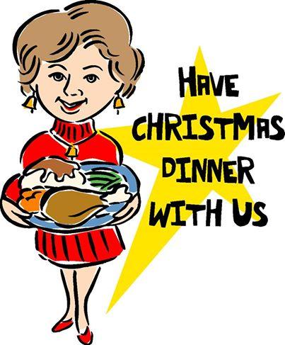 COMMUNITY CHRISTMAS DINNER.