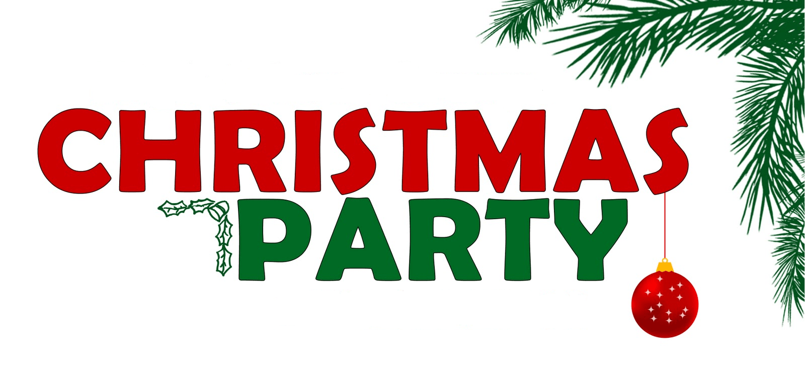 Church Christmas Party Clipart.
