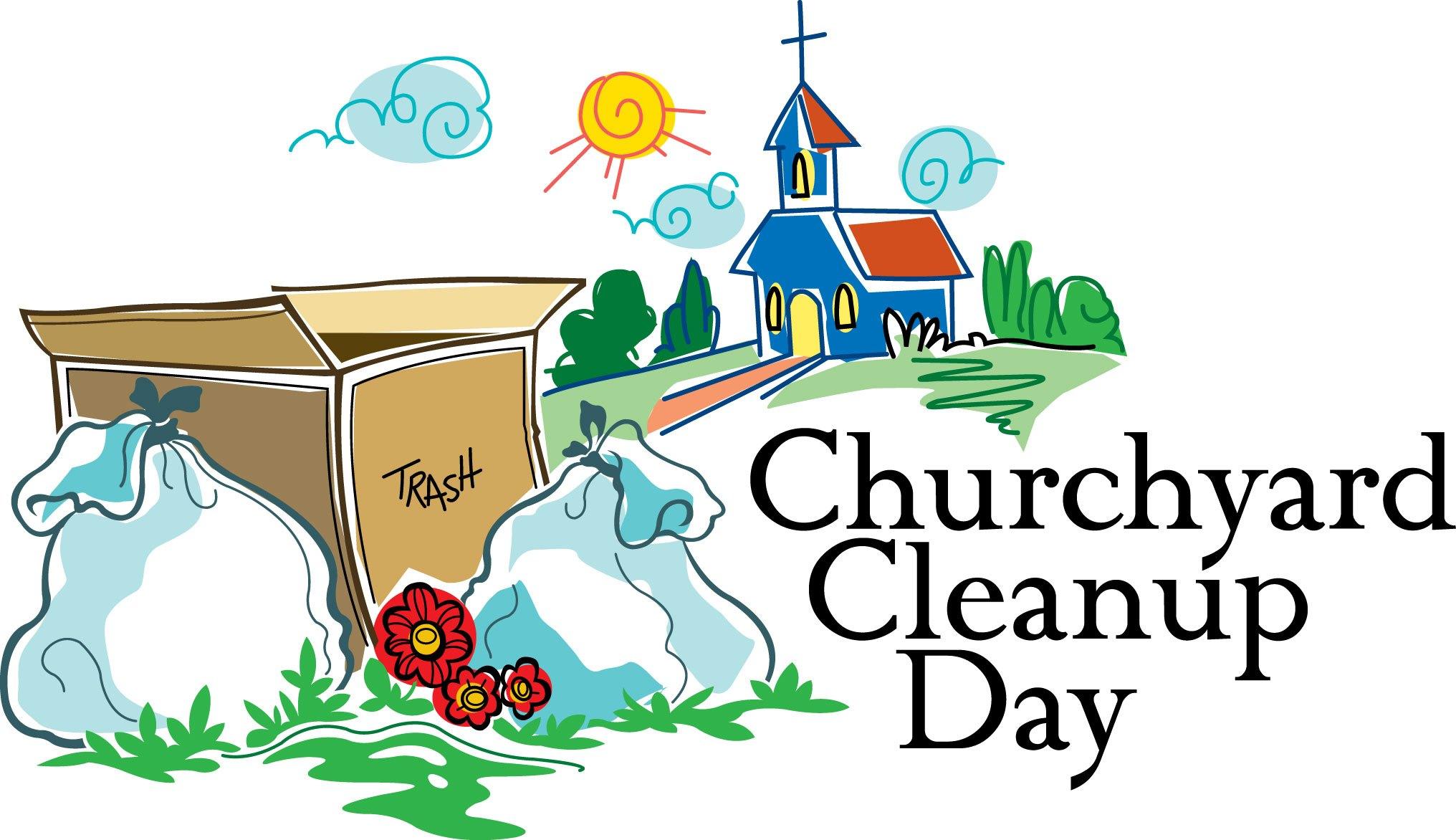 Church Clean Up Day.
