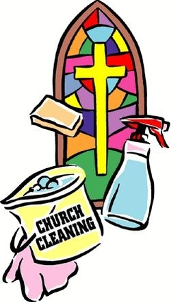 Church Cleaning.