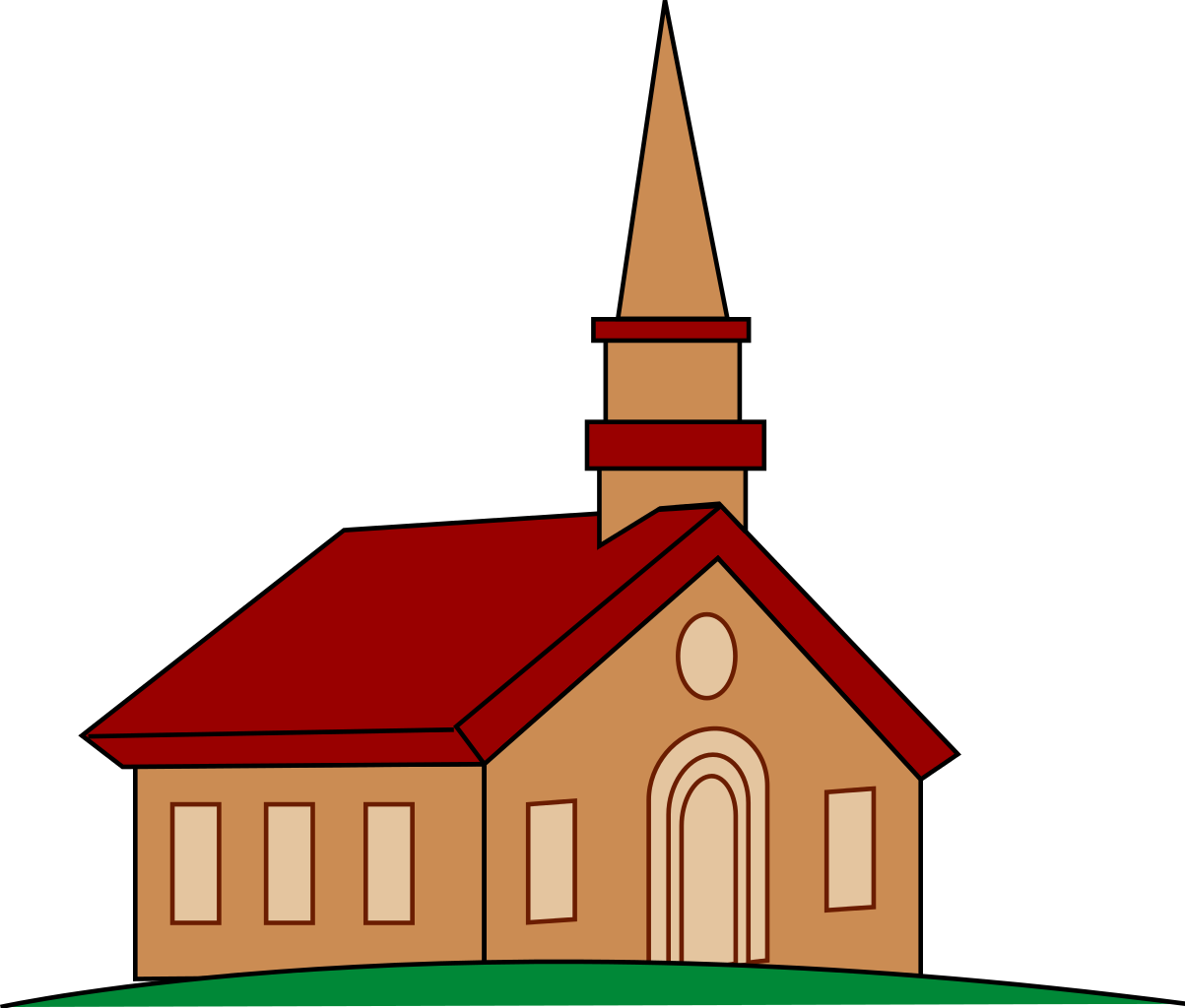 Free Clipart Church.
